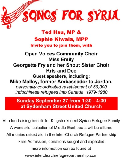 Songs for Syria poster