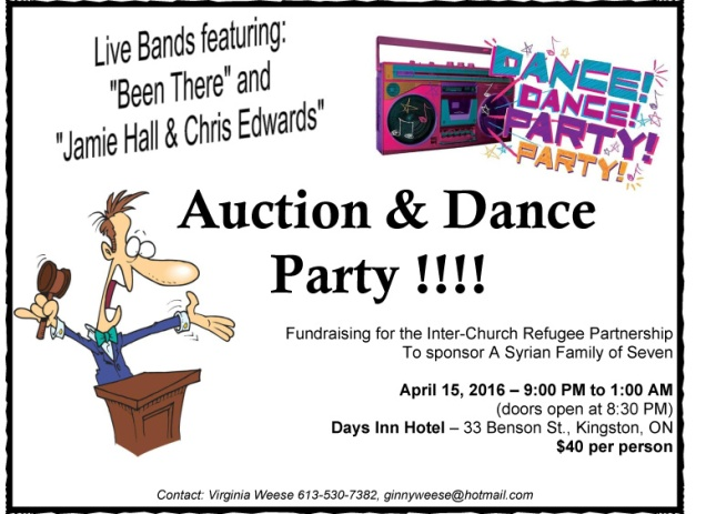 Dance Party and Auction